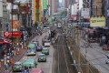 Yuen Long returns to normal on Tuesday after becoming a ghost town a day before. Photo: K. Y. Cheng