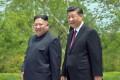 Chinese President Xi Jinping and North Korean leader Kim Jong-un met in Pyongyang last month. Photo: AFP