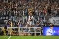 Cristiano Ronaldo of Juventus celebrates scoring during the 2019 International Champions Cup football match against Inter Milan in Nanjing. Photo: Xinhua