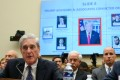 Robert Mueller testifies before the House Select Committee on Intelligence in Washington on Wednesday. Photo: AFP