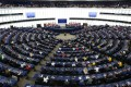 Eighty-five members of the European Parliament signed the motion on Hong Kong. Photo: Xinhua