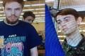 Kam McLeod, 19, and Bryer Schmegelsky, 18. Photo: AFP