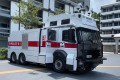 Three controversial anti-riot vehicles armed with water cannons will hit the streets of Hong Kong this week. Photo: Handout