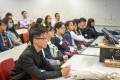 The transition from Chinese instruction in secondary school to English at university often leaves students silent in the classroom. Photo: Shutterstock