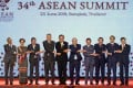 The Regional Comprehensive Economic Partnership involves the 10 Asean nations of Indonesia, Thailand, Malaysia, Singapore, Philippines, Vietnam, Myanmar, Cambodia, Brunei and Laos, as well as China, Japan, South Korea, Australia, New Zealand and India. Photo: EPA