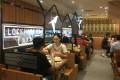 People eating lunch at Men Wah Bing Teng in Causeway Bay's Tower 535. Photo: Oasis Li