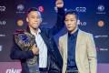Martin Nguyen (left) and Koyomi Matsushima at Tuesday's One Championship press conference in Manila. Photos: One Championship