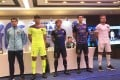 R&F Guangzhou introduce some of their players for the new season at a presser on Wednesday. Photo: Chan Kin-wa