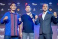 Eddie Alvarez (right) goes against Eduard Folayang in Manila. Photo: One Championship