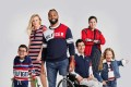 Models show looks from Tommy Adaptive, the Tommy Hilfiger clothing line for people with disabilities.