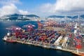 Shipping containers at South Korea's Busan Port Terminal. A trade dispute between South Korea and Japan could affect talks between 16 countries in Beijing in the latest round of negotiations for a Regional Comprehensive Economic Partnership (RCEP). Photo: Bloomberg