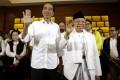 Indonesian President Joko Widodo and Vice-President Ma'ruf Amin. Photo: AP