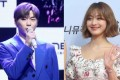 K-pop singers Kang Daniel and TWICE's Jihyo are believed to be romantically involved. Photo: Yonhap