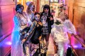 """Drag queens dressed as characters from Quentin Tarentino films brought some glamour to the """"Drag me to Late Brunch"""" event at the W Hotel Hong Kong, West Kowloon."""