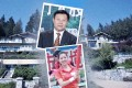 Chinese tycoon Li Jianhua and daughter Carol Li Xiaoqi are fighting over a Vancouver real estate fortune, including the two multimillion-dollar properties pictured in the background. Photos: Guangdong Weihua Corporation/Eastmoney user photo/Ian Young. Montage by SCMP