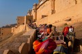Jaipur protesters have called to ban elephant joyrides at India's Amber Fort. Photo: Alamy
