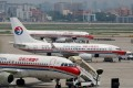 China Eastern Airlines planes are seen on the tarmac at Hongqiao International Airport in Shanghai. Photo: Reuters