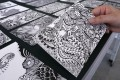Zentangle refers to the freehand drawing technique of creating beautiful images from repetitive patterns. Photo: Jonathan Wong