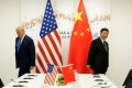 Chinese President Xi Jinping and US President Donald Trump at the G20 summit in Japan in June. Chinese analysts say a 'counter-China' culture prevails in Washington. Photo: Reuters