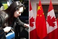 The arrest of Huawei executive Meng Wanzhou, pictured arriving at a court hearing in Vancouver in May, has affected China-Canada relations. Photos: AFP and EPA