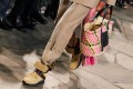 Basket bags like this one from Spanish fashion house Loewe are all the rage this summer. Photo: EPA-EFE