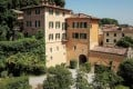 The summer home of fashion designer Valentino Garavani and his lifetime partner, businessman Giancarlo Giammetti, in the town of Cetona in Tuscany, Italy, which the couple are selling for US$13 million.