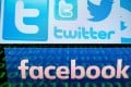 The social media platforms Twitter and Facebook have both announced the suspension of accounts they say are part of a China-based campaign to promote political discord in Hong Kong. Photos: AFP