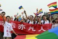 Chinese gay rights campaigners feel denial of marriage equality is symptomatic of Beijing's disregard. Photo: AFP