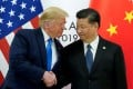 Donald Trump told people to avoid condemning China's activities in Hong Kong on August 2. Here he meets with China's President Xi Jinping at the G20 leaders summit in Osaka. Photo: Reuters