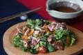 Susan Jung's shabu shabu salad. Photography: Jonathan Wong. Styling: Nellie Ming Lee
