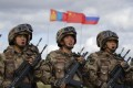 PLA troops take part in Russia's massive war games in eastern Siberia in September. Photo: AP