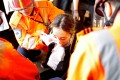 The woman sustained a severe injury to her right eye in Tsim Sha Tsui on August 11. Photo: Reuters