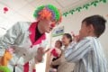 Song Longchao became a clown doctor at Sichuan Provincial People's Hospital in Chengdu four years ago. Photo: Song Longchao.