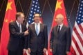 """Donald Trump claimed China had contacted """"our top people"""", hinting at a follow-up to last month's talks, in which the US' Robert Lighthizer (left) and Steven Mnuchin (centre) met China's Liu He (right). Photo: AFP"""