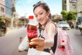 An advert for Coca-Cola's 250ml 'jigri' bottle, which was recently launched in Nepal. Photo: Facebook