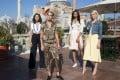 (From left) Naomi Scott, Kristen Stewart, Ella Balinska and Elizabeth Banks in Charlie's Angels, which will be released in November.