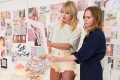 Singer Taylor Swift (left) works with fashion designer Stella McCartney on their capsule collection. Photo: TAS Rights Management