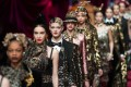 Dolce & Gabbana cancelled a major show in Shanghai last year after racist comments about the Chinese people from Stefano Gabbana surfaced on Instagram. Here models present creations by Dolce and Gabbana during the Milan Fashion Week. Photo: EPA