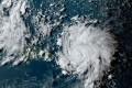 Hurricane Dorian as it approaches Puerto Rico in the Caribbean. Photo: Handout via AFP