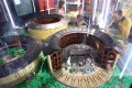 Traditional Fujian earth roundhouses, or tulou, made with thousands of plastic Lego blocks – some of the many miniature Chinese landmarks on display at the Indigo shopping mall in Beijing. Photo: Simon Song