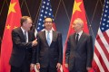US Trade Representative Robert Lighthizer (left) and Treasury Secretary Steven Mnuchin have shared their first phone call with Chinese Vice-Premier Liu He (right) since August 13. Photo: AFP