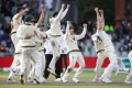 Australia retained the Ashes with victory in the fourth test at Old Trafford on Sunday. Photo: Reuters