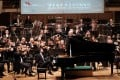 Seong-Jin Cho was the soloist in Rachmaninov's Piano Concerto No. 2 with the Hong Kong Philharmonic Orchestra under the baton of music director Jaap van Zweden. Photo: Ka Lam/Hong Kong Philharmonic Orchestra