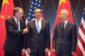 US trade representative Robert Lighthizer (left), US Treasury Secretary Steven Mnuchin and Chinese Vice-Premier Liu He are expected to continue face-to-face talks in Washington in October. Photo: AFP