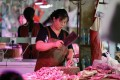 Chinese consumers face record pork prices. Photo: Simon Song