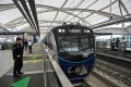 Jakarta's Mass Rapid Transit (MRT), which was built with financing from Japan, opens for the first time to the public in March 2019. Photo: AFP
