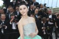 Chinese actress Fan Bingbing arrives for the opening ceremony of the 2018 Cannes Film Festival in southern France. One of China's highest paid celebrities, Fan's involvement in a massive tax-evasion scandal subsequently tainted her image. Photo: AP