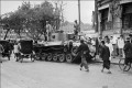 People walk by a communist tank in Shanghai in 1949. Mao Zedong could have sent the victorious People's Liberation Army to Hong Kong then but decided against it. Photo: AFP
