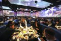 Hungry diners tuck into their food at a Haidilao hotpot restaurant in Beijing. Photo: Simon Song