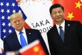 Chinese President Xi Jinping and US President Donald Trump. Photo: AFP